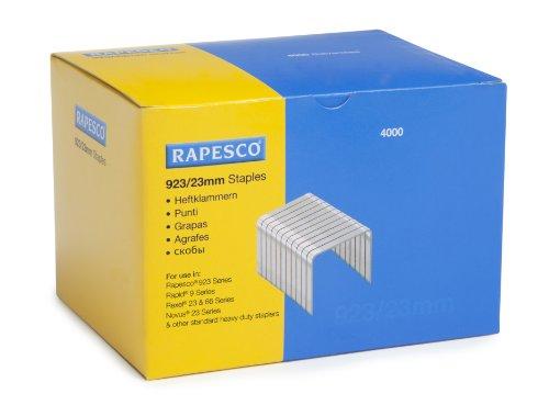 Rapesco Boîte de 4000 agrafes très résistantes Type 923 23mm