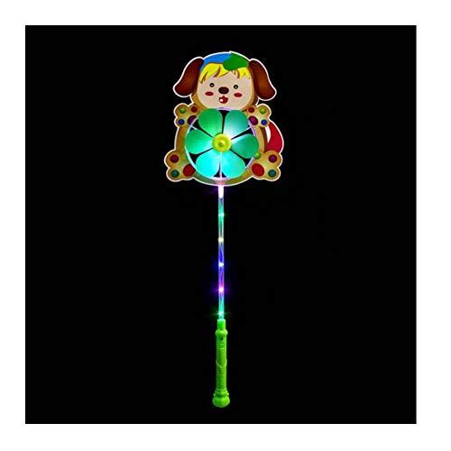 Black Temptation 2 Stück Cartoon Glowing Windmühle Spielzeug -