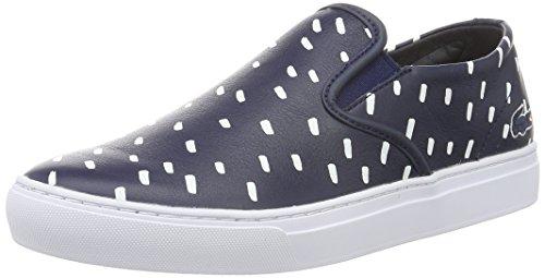 Lacoste L!VE - Sneaker - Homme bleu (NVY/WHT)
