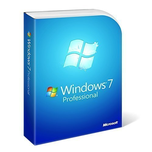 Microsoft Windows 7 Professional, OEM Aktivierungsschlüssel (Win 7 Pro-software)