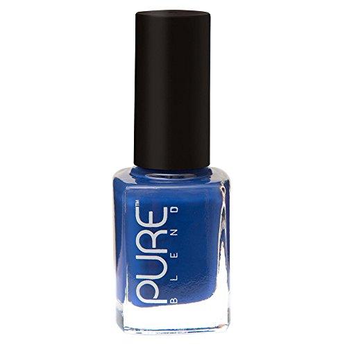 PURE BLEND Toxic Free Luxury Nail Polish - Depth of an Ocean - Queen Blue Crème - 9 ml