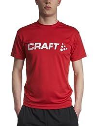Craft Herren Laufbekleidung Active Run Logo Tee