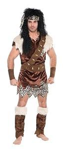 Christy`s - Disfraz de neandertal para hombre, talla 46 inch (996956)