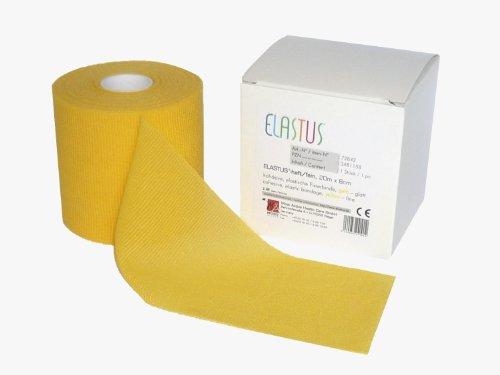 Elastus 9,14 m x 3,8 cm y 27,5 m x 7 cm Juego de 2 rollos de cinta adhesiva deportiva y 1 rollo de prevendaje deportivo