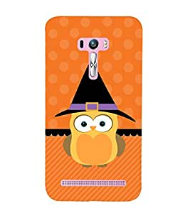 Cute Owl 3D Hard Polycarbonate Designer Back Case Cover for Asus Zenfone Selfie ZD551KL