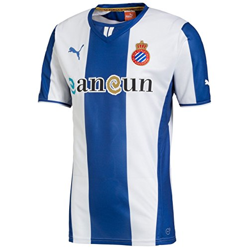 Puma Herren Trikot Espanyol Barcelona Home & Third Shirt Replica, True Blue-White, L, 743865 01 -