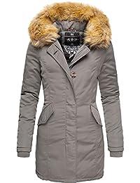 Marikoo Damen Winter Mantel Winterparka Karmaa 24 Farben XS-5XL