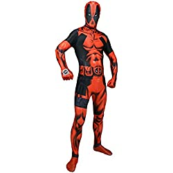 Morphsuits - Disfraz de segunda piel (pegado al cuerpo) infantil, talla XXL (MLZDP2)