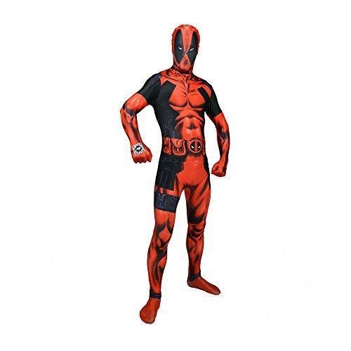 Delux Digital Morphsuit, Verkleidung, Kostüm - XXLarge - 6'2-6'9 (186cm-206cm) ()