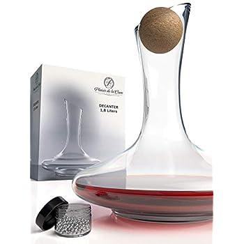 PHA-ZAIRE Wine Aerator /& Glass Decanter Aeration Red Taste Scent Enhancer Carafe