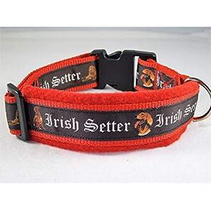 Halsband Irish Setter Größe ML 45-50 cm Halsumfang