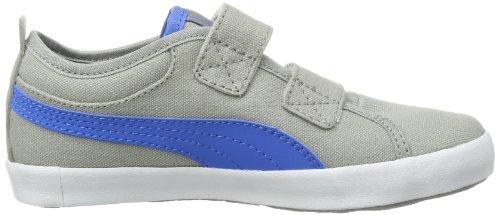 Puma Elsu Bluchertoe Cvs V Kids, Peu mixte enfant Gris - Grau (limestone gray-french blue 02)