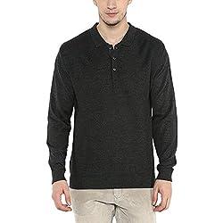 Wills Lifestyle Mens Collared Slub Sweater