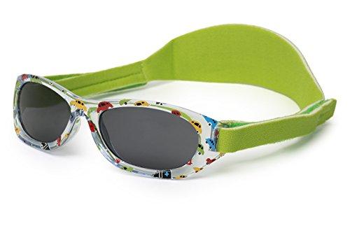 Sonnenbrille Baby   für Jungen   0 monat bis 2 Jahren   MIT WEICHEM VERSTELLBAREM NEOPRENBAND   100% UVA- und UVB-Schutz   sicher, bequem und widerstandsfähig   ideales Geschenk   Kiddus Baby