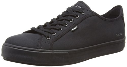 Kickers Men's Tovni Lacer Text AM Low-Top Sneakers, Black (Black), 9 UK