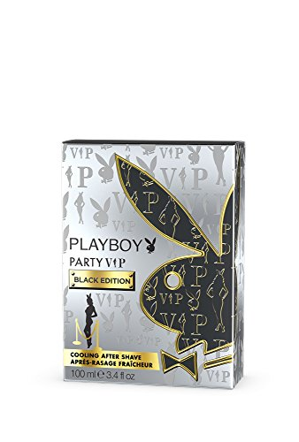 Playboy Vip Black Edition Aftershave - 100 ml