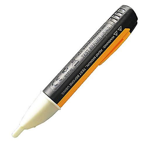LED Licht Spannung Tester Pen, Yooger AC 90V-1000V Elektrischer Berührungslose Spannungsprüfer für Sockel Wand Steckdose, Detektor Sensor Test