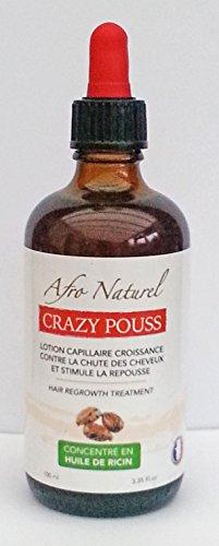 Afro naturel Lotion capillaire Croissance et repousse des cheveux 100 ml