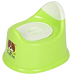 A Little Swag Smart and Convenient Potty and Toilet Trainer Seat for Boys and Girls (Blue and Red)