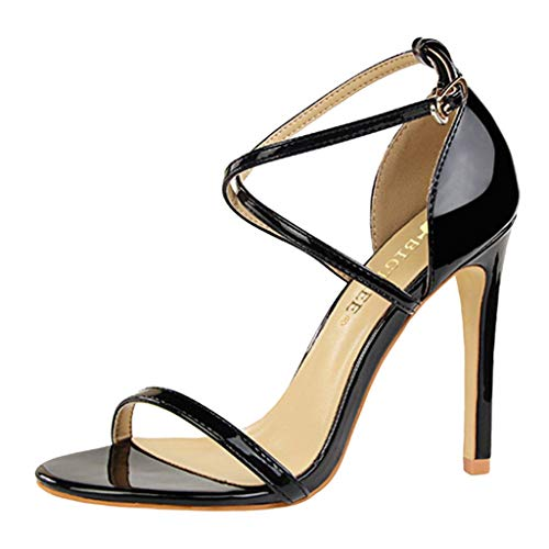 B-commerce Mode Frauen Sexy Sommer High Heel Schuhe Damen Peep Toe Pumps Schnalle Sandalen Casual Party Hochzeit Schuhe Sexy Classic Pumps