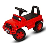 Baybee Baby Ride On with Music ~ Jeep Ride On Push Car Toy I Suitable for Boys & Girls ( Red )
