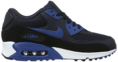 uk availability 3f192 b2fbd ... Nike Air Max 90 Essential, Écharpe De Ginnastica Uomo Blu (dark Obsidian    Court