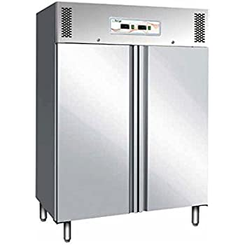 Armadio Frigorifero 2 Ante.Armadio Frigo Refrigerato Congelatore Gn2 1 Ventilato 2 Ante 1200 Lt