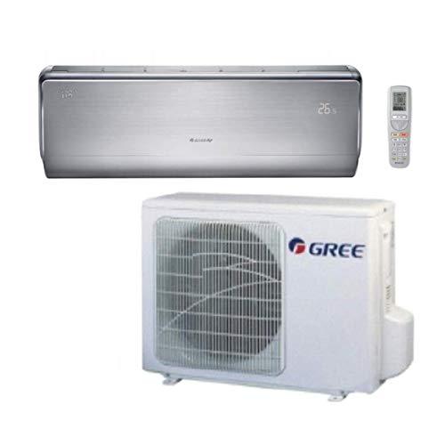 Klimaanlage Inverter u-crown 9000BTU Gree Energie A + +/A + + Chrom satiniert-Funktion WLAN