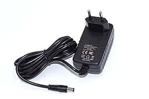 vhbw 220V Bloc alimentation chargeur pour Logitech Squeezebox, UE Smart comme PSAA18R-180, 993-000385, 534-000245, 090453-12, 930-000097, 930-000101