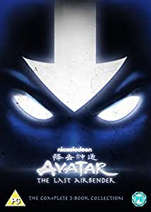 Avatar: The Last Airbender, The Complete 3-Book Collection [DVD]