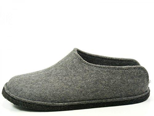 Pantofole Uomo 4 Muli Flair Smily Grigio antracite Haflinger tgwRvHnqSn