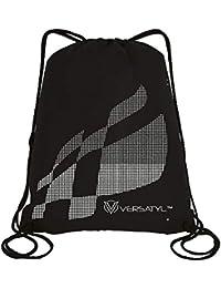 VERSATYL Polyester Black Drawstring Gym Bag