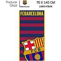 Producto Oficial FC Barcelona Toalla DE Playa Y Baño FCBARCELONA Barça 70X140CM (113073-FCB134