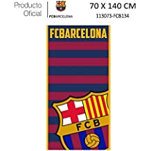 23399a6c071c9 Producto Oficial FC Barcelona Toalla DE Playa Y Baño FCBARCELONA Barça  70X140CM (113073-FCB134