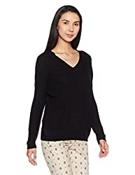 Forever 21 Womens Synthetic Pullover (00178875042_0017887504_Black_2)