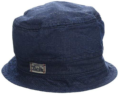 maximo Baby-Jungen Hut, Jeans, Streifen Sonnenhut, Blau (Denim-Weiss 56), 49