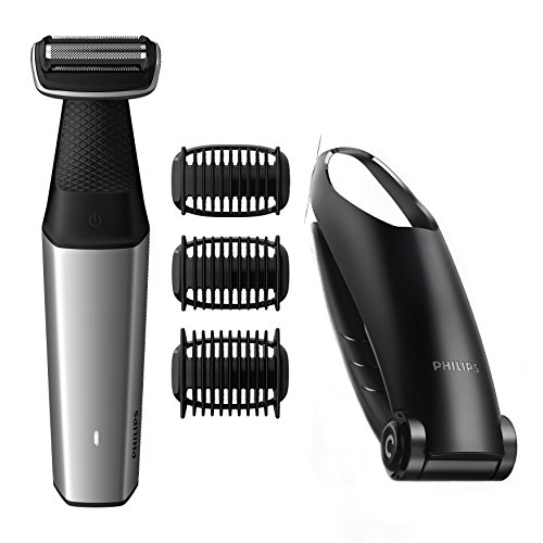 Philips Series 5000 Showerproof Body Groomer with Back Attachment and Skin Comfort System - BG5020/13 Best Price and Cheapest