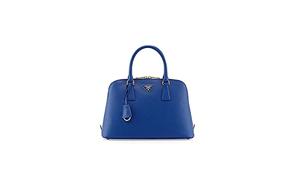 8a4f484d5 Prada 1BA837 Medium Vernice Dark Blue Saffiano Leather Promenade Bag:  Amazon.co.uk: Clothing