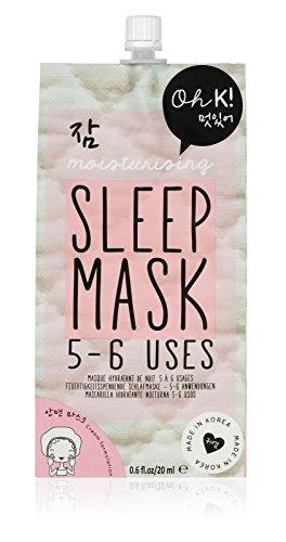 Oh K! Sleep Mask - Mascarilla Hidratante Nocturna, 20 ml, 5-6 Usos