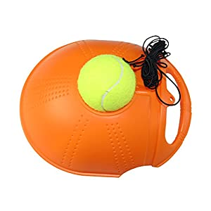 FANGCAN Disk Tennis Trainer for Solo Training (Orange) Review 2018
