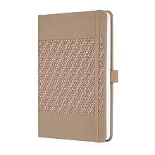 SIGEL JN201 Notebook Jolie, approx. A5, lined, hardcover, design desert brown