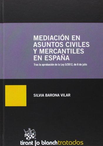 Mediación en asuntos civiles y mercantiles en España