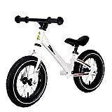 Niño bicicleta de equilibrio Ligeros de 12 Neumáticos resto aluminio bicicleta de carreras con aire de goma antideslizante manillar niños y los niños de entrenamiento deportivo Caminar Bicicleta for
