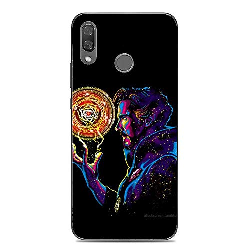 BEMAGIC P20 Lite Case,Flexible Slim Silicone TPU Protector Cover Soft Thin Gel Skin for Huawei P20 Lite-Doctor Stephen Strange Silicon Case Protector Cover