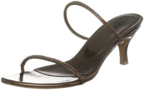 Unze Evening Sandals, Sandali donna Marrone (Braun (L18783W))