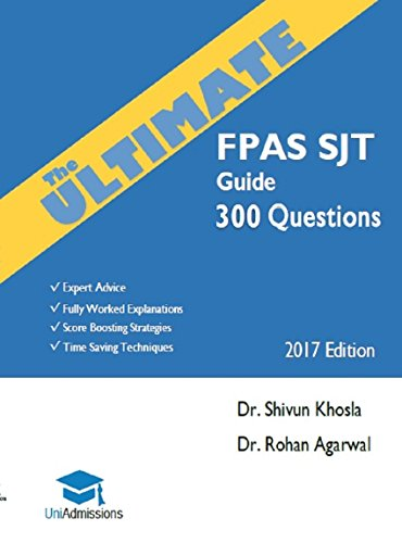 The ultimate fpas sjt guide 300 practice questions expert advice the ultimate fpas sjt guide 300 practice questions expert advice fully worked explanations fandeluxe Gallery
