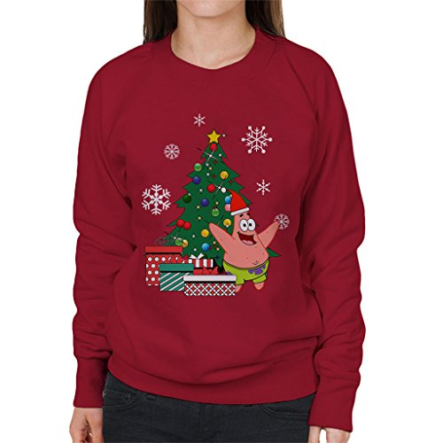 Patrick Star Around The Christmas Tree Spongebob Women's (Film Patrick Und Spongebob)