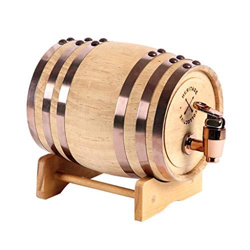 WSJTT Whiskey Barrels - Whiskey Barrel - Verfeinern Sie Ihren eigenen Whiskey, Bier, Wein, Bourbon, Tequila, Rum, scharfe Soße & mehr |Hot Sauce & More 5 Liter