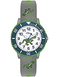 s.Oliver Unisex Kinder-Armbanduhr SO-3558-PQ