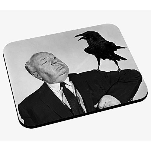 Mausunterlage Foto von Star berühmten Regisseur Alfred Hitchcock Film Original 2